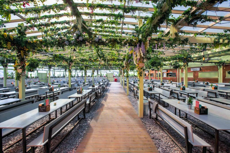 London's Best Rooftop & Outdoor Bars (Image of Pergola Paddington)