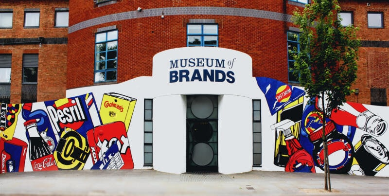 26 Unusual Museums To Visit in London (Image of Museum of Brands)