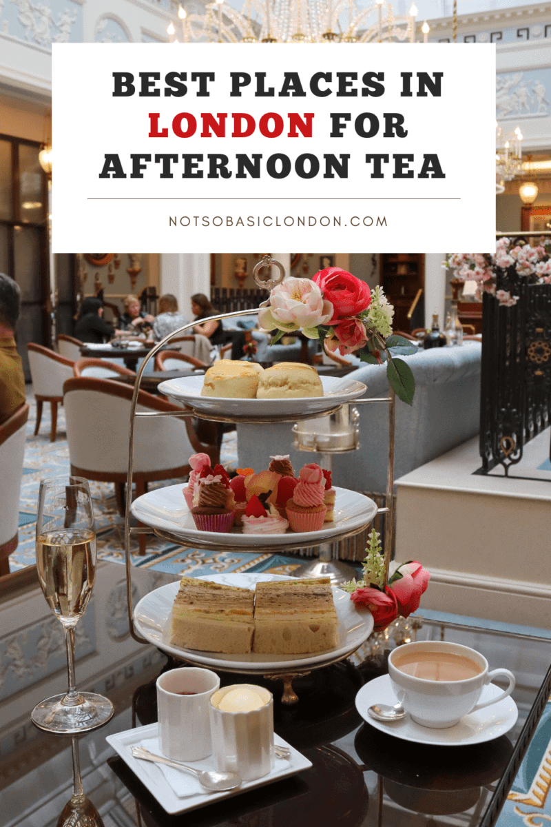 Best Places in London For Afternoon Tea
