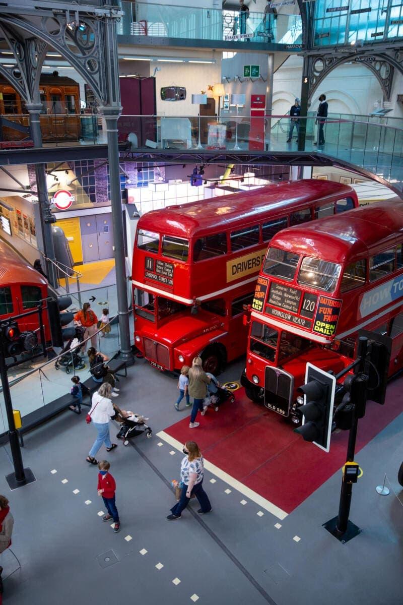 2 – London Transport Museum reopens to visitors – 7 September 2020 (C) TfL