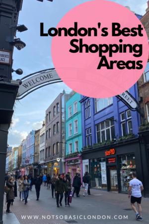 London's Best Places To Shop