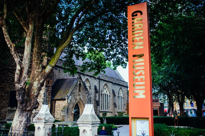 26 Unusual Museums To Visit in London (Image of Garden Museum)
