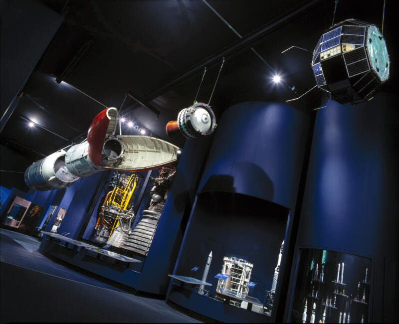 Exploring Space Gallery at the Science Museum © Science Museum Group