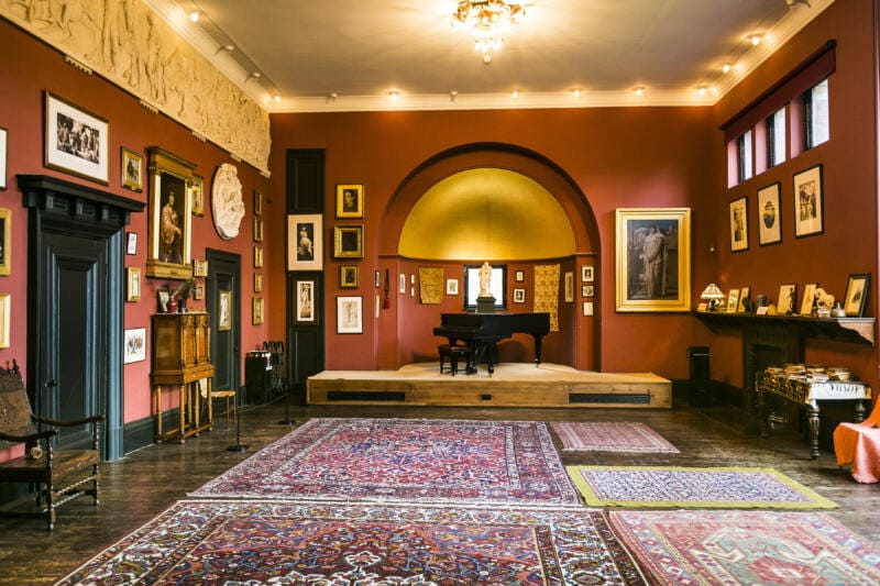 26 Unusual Museums To Visit in London (Image of the Leighton House Museum)