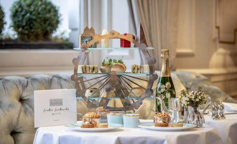 London Landmarks Afternoon Tea_Hero_with Champagne_Landscape_LO RES1