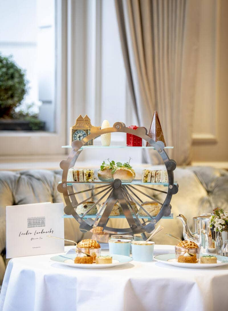 London's Best Afternoon Teas (Image of afternoon tea at The Kensington Hotel)