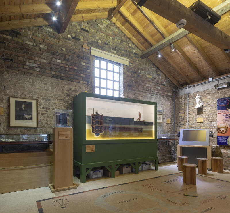 26 Unusual Museums To Visit in London (Image of The Brunel Museum)
