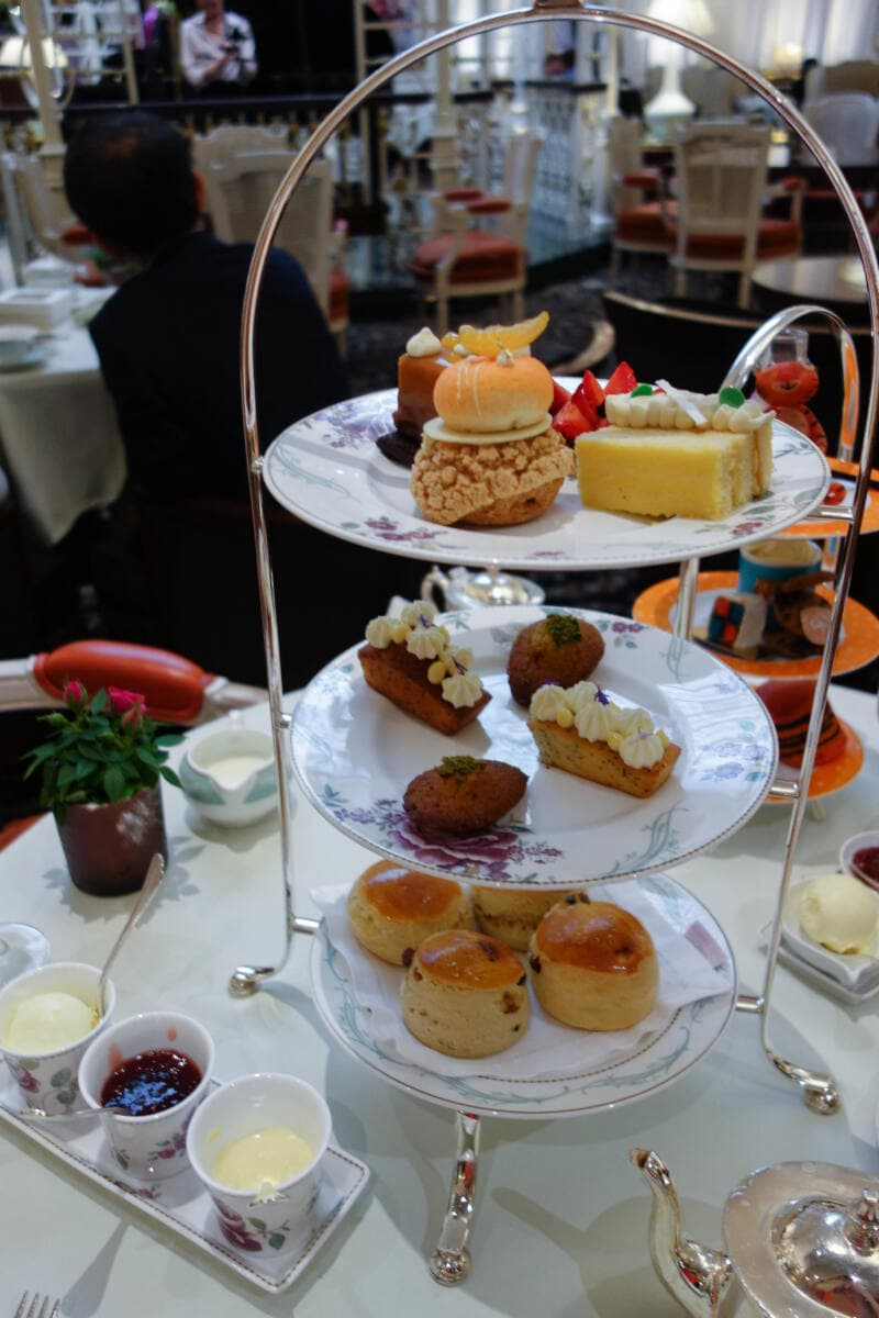 London's Best Afternoon Teas (Image of afternoon tea at The Savoy)