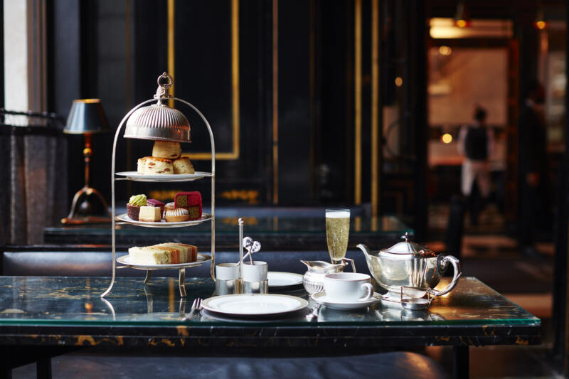 London's Best Afternoon Teas (Image of afternoon tea at The Wolsely)