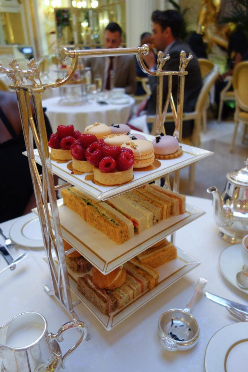 London's Best Afternoon Teas (Image of afternoon tea at The Ritz)