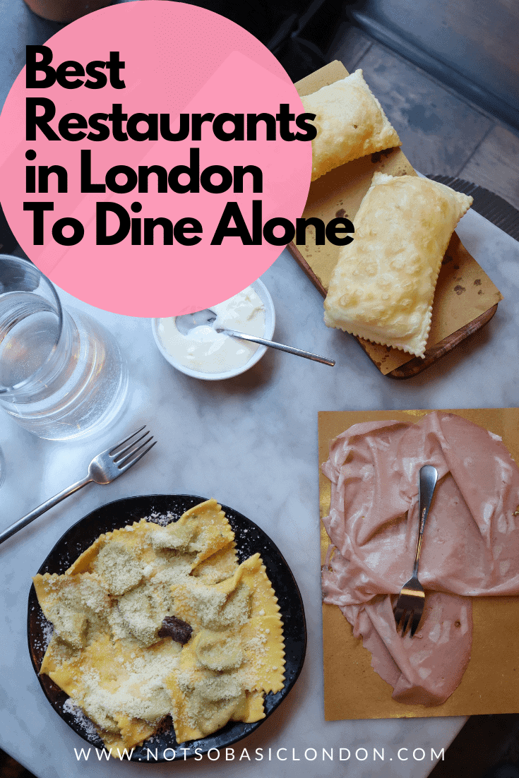 London's Best Restaurants To Dine Alone