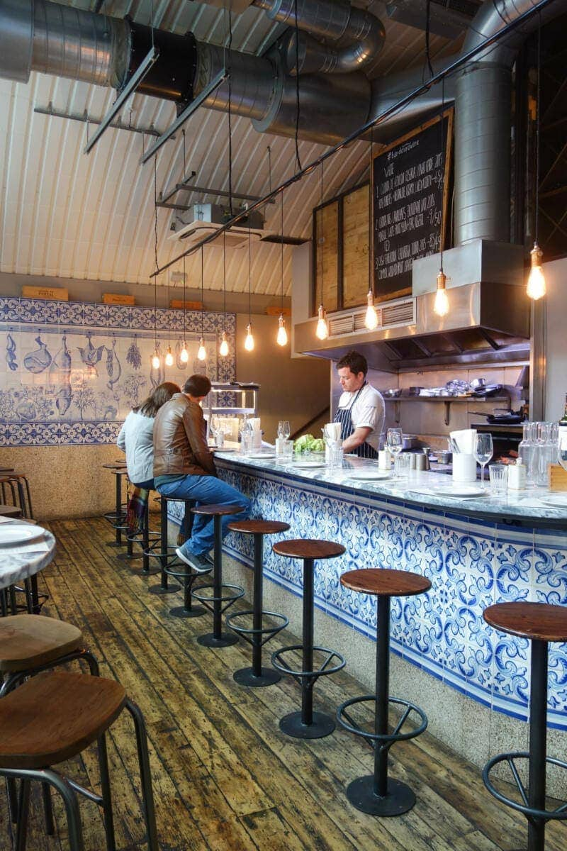 London's Best Restaurants To Dine Alone (Image of Bar Douro)