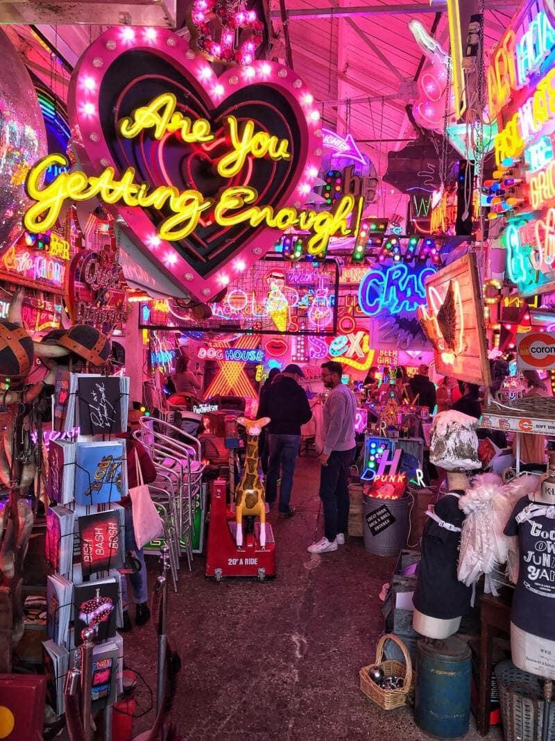 100 Hidden Gems To Discover in London (Image of God's Own Junkyard)