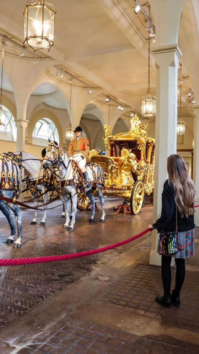 100 Hidden Gems To Discover in London (Image of The Gold State Coach at The Royal Mews)