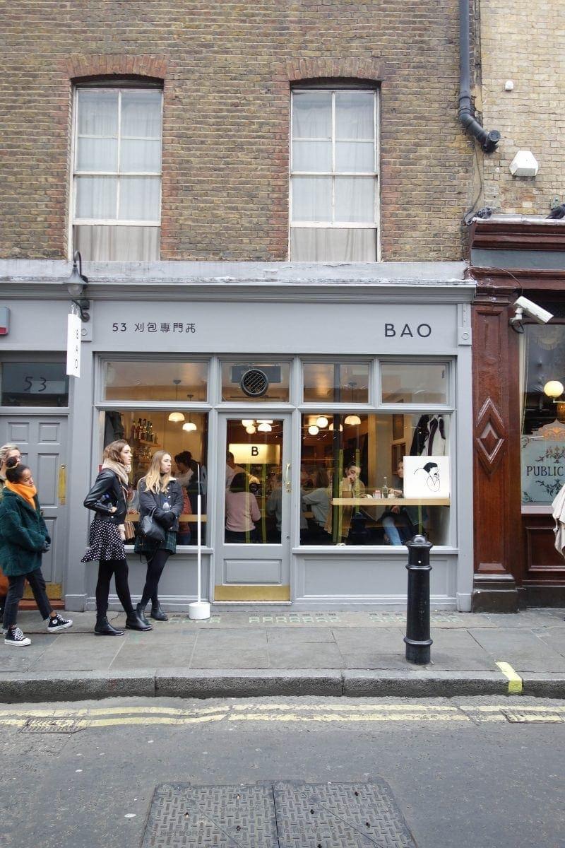 London's Best Restaurants To Dine Alone (Image of Bao Fitzrovia)