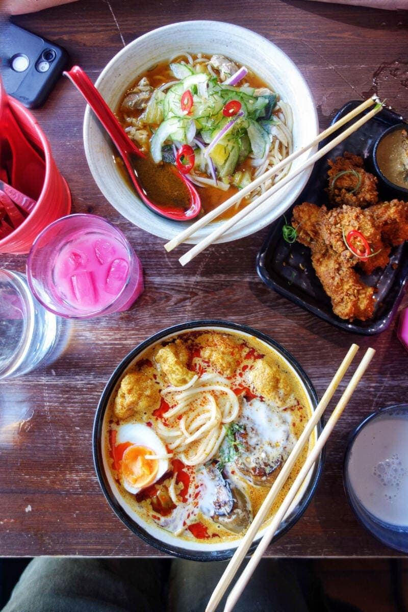 Best Places to Eat in London for First Time Visitors (Image of laksa at Sambal Shiok)