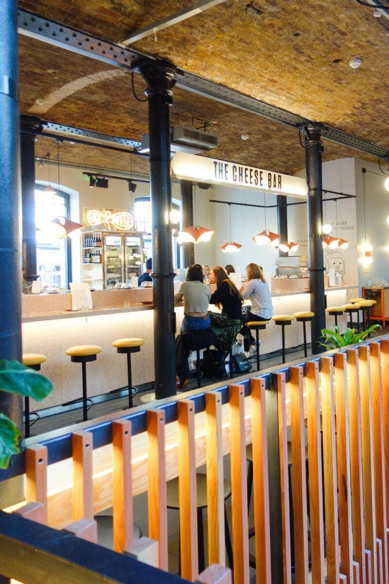 London's Best Restaurants To Dine Alone (Image of The Cheese Bar)