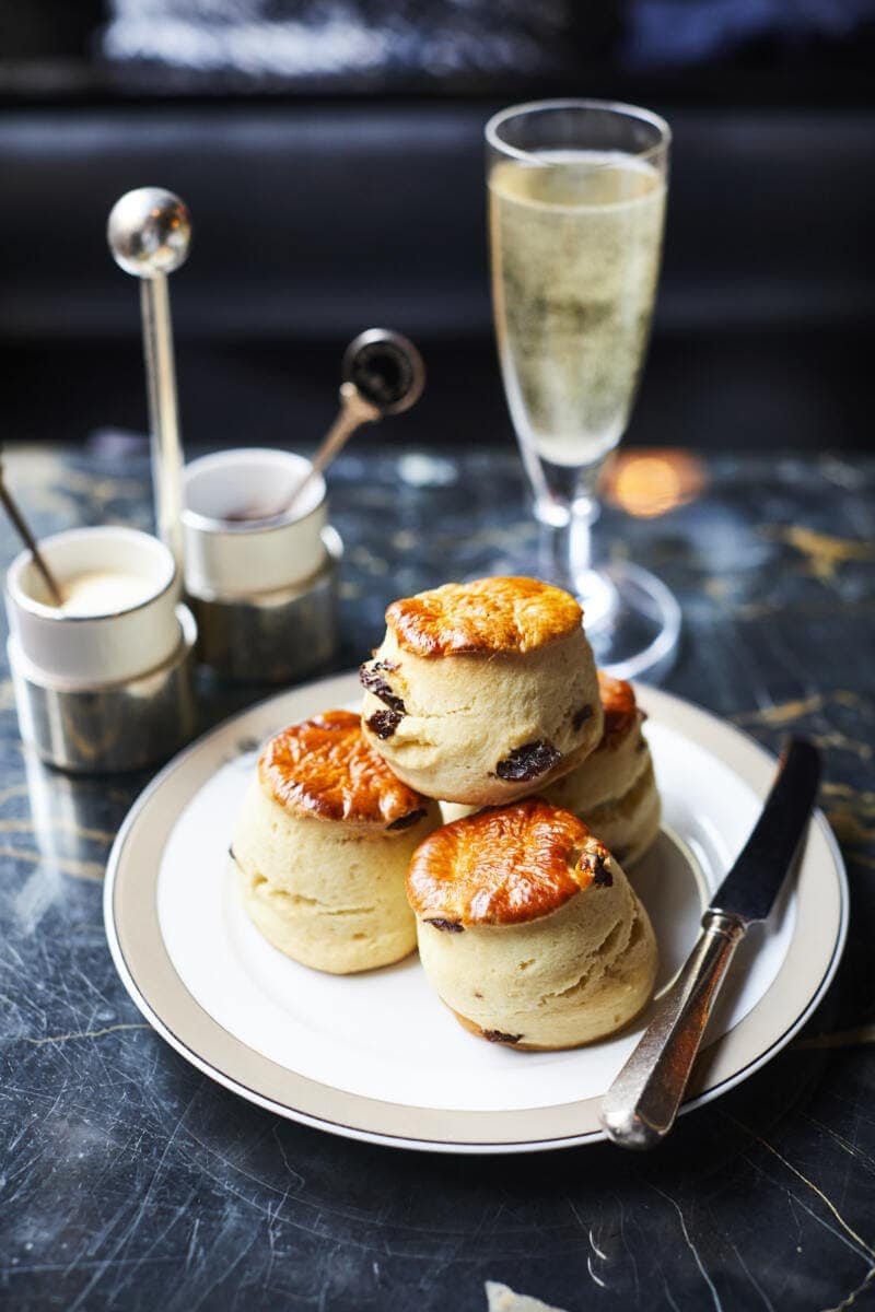 Best Places to Eat in London for First Time Visitors (Image of cream tea at The Wolseley)