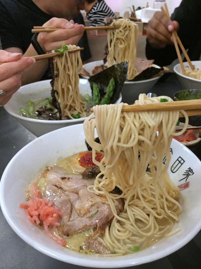 Best Places to Eat in London for First Time Visitors (Image of ramen at Kanada Ya)